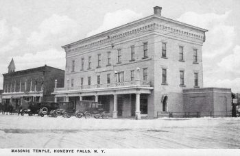 Honeoye Falls Masonic Temple Turns 100!