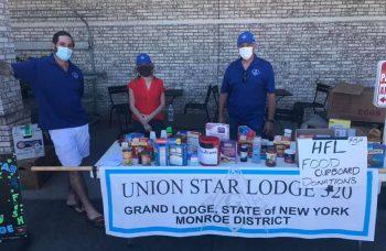 Union Star No. 320 Raises $3,200+ for Local Non-Profits